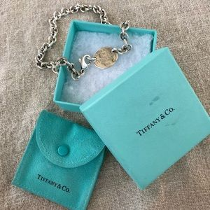 Tiffany & Co. Choker Tag Logo Necklace 925
